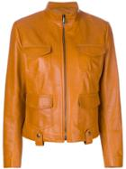 Bottega Veneta Zipped Jacket - Brown