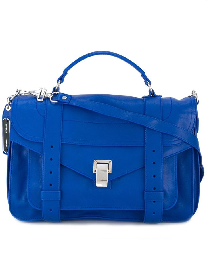 Proenza Schouler Ps1 Satchel - Blue
