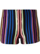 Missoni Striped Knit Shorts