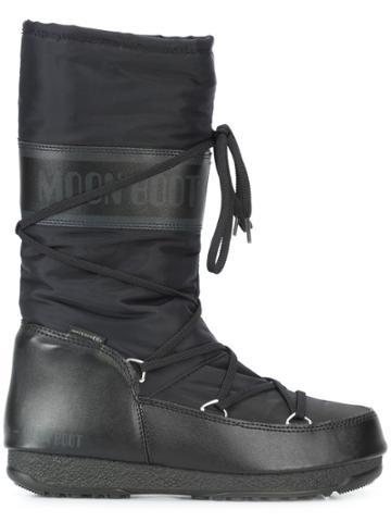 Moon Boot Soft Moon Boots - Black