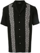 Loveless Tile Print Shirt - Black