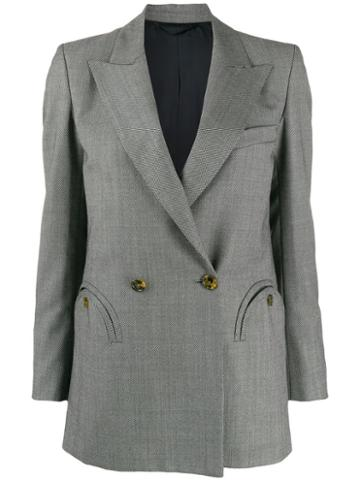 Blazé Milano Double-breasted Blazer - Green