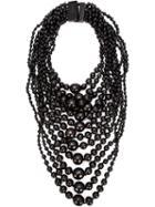 Monies Tiered Round Bead Necklace