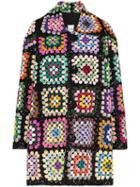 Ashish Sequin-embellished Crochet Coat - Multicolour