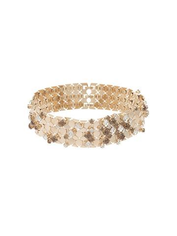 Lanvin Embellished Choker Necklace, Women's, Metallic
