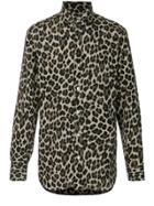 Tom Ford Leopard Print Shirt - Nude & Neutrals