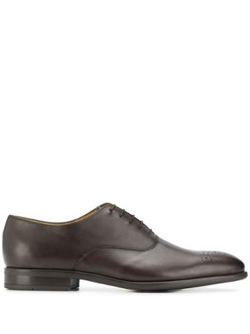 Ps Paul Smith Perforated Oxford Shoes - Brown