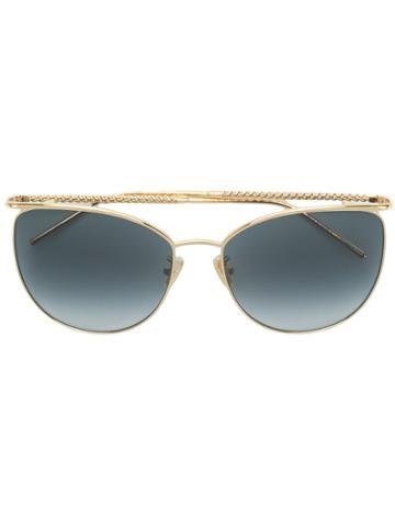 Boucheron Square Sunglasses - Metallic