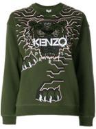 Kenzo Tiger Jumper - Green
