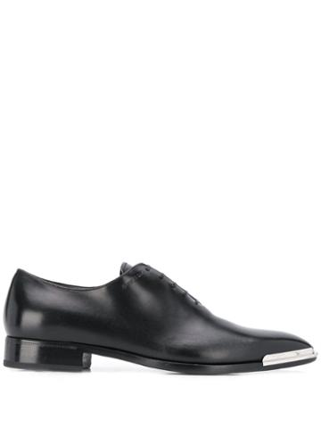 Givenchy Metal Tip Oxford Shoes - Black