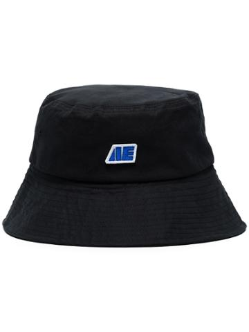 Ader Error Black Logo Bucket Hat