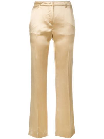 Prada Vintage Tailored Trousers - Nude & Neutrals