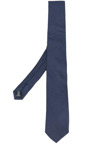 Tonello Pointed Tip Tie - Blue
