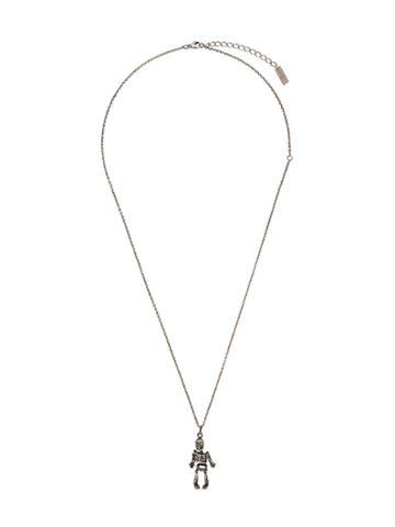 Saint Laurent Skull Necklace - Silver