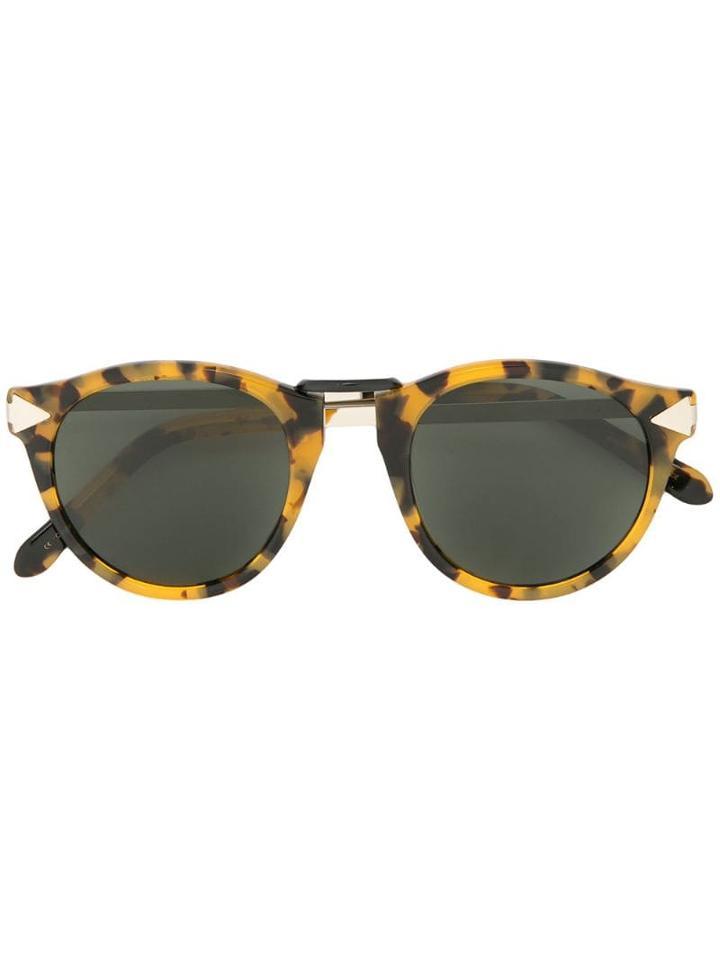 Karen Walker Helter Skelter Sunglasses - Brown