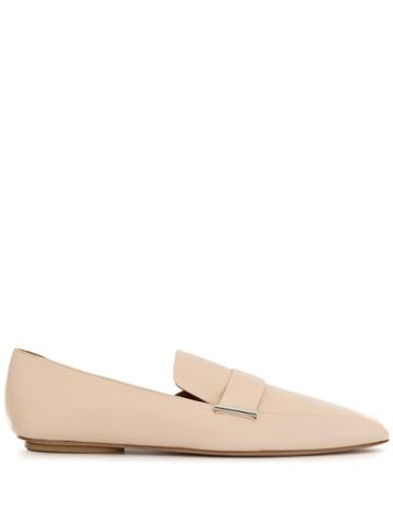 Rosetta Getty D'orsay Loafers - Neutrals