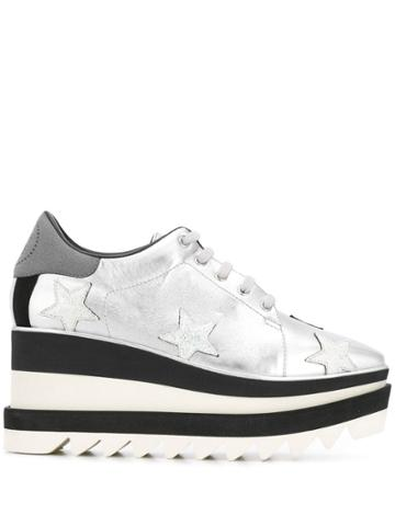 Stella Mccartney Sneak-elyse Sneakers - Silver