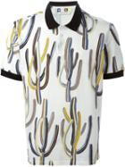 Msgm Printed Polo Shirt