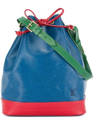 Louis Vuitton Vintage Epi Noe Bucket Bag - Blue