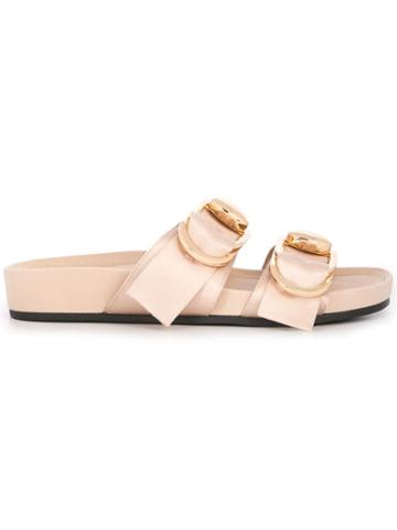 Stella Luna D-ring Slippers - Neutrals