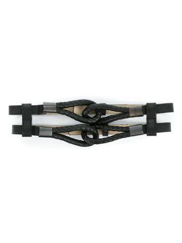 Tufi Duek Knot Belt - Black