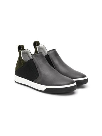 Lanvin Enfant Teen Slip-on Sneakers - Grey