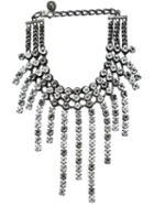 Lanvin Crystal Strand Necklace