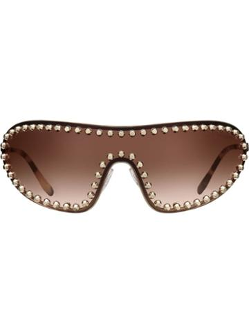 Prada Eyewear Prada Eyewear Collection Sunglasses - Brown