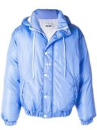 Msgm Padded Jacket - Blue