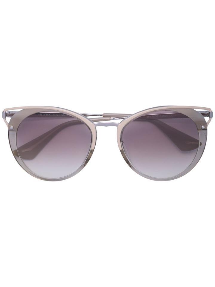 Prada Eyewear Cinéma Sunglasses - Neutrals