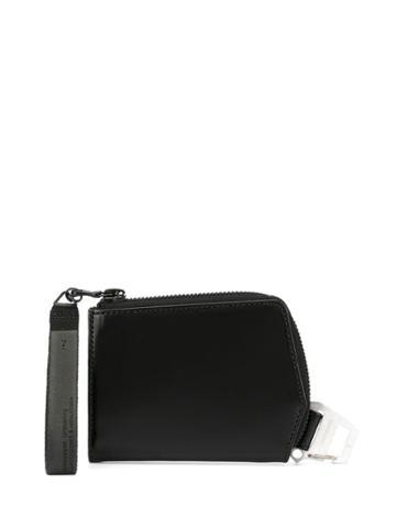Julius Buckle-detail Zipped Wallet - Black