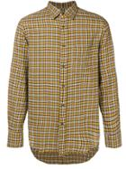 Mauro Grifoni Checked Casual Shirt - Yellow & Orange