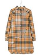 Burberry Kids Teen Vintage Check Shirt Dress - Neutrals