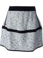 Kenzo Twill A-line Skirt