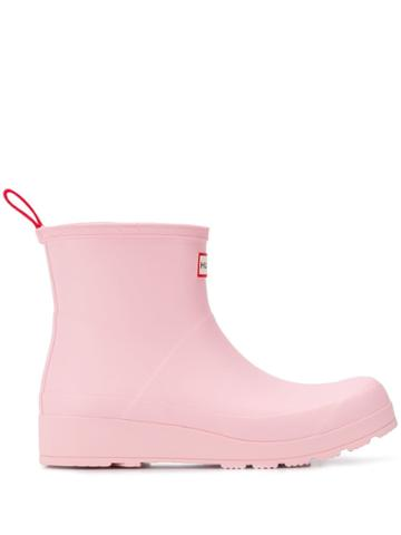 Hunter Ankle Wellies - Pink