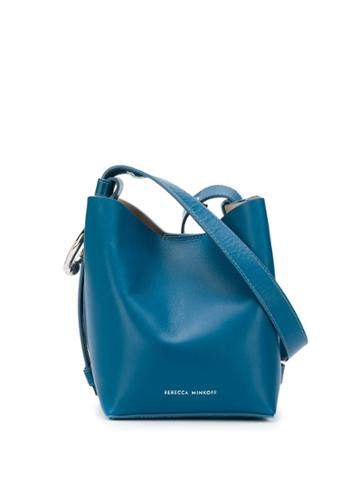 Rebecca Minkoff Kate Mini Bucket Bag Blue
