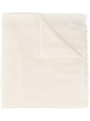Faliero Sarti Enrica Fine Scarf - White