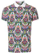 Etro Printed Polo Shirt - Multicolour