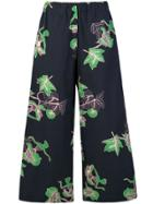 Vivetta Printed Trousers - Black