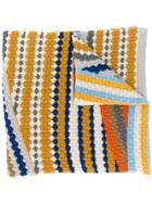 Missoni Stripe Patterned Scarf - Yellow