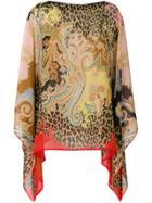 Etro Patterned Handkerchief Blouse - Multicolour