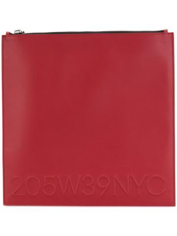 Calvin Klein Calvin Klein Collection - Woman - Logo Poutch - Red