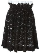No21 Elasticated Lace Skirt