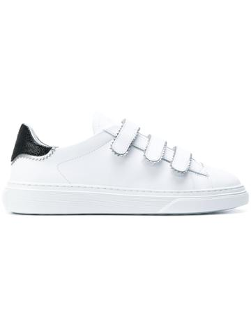 Hogan Touch Strap Sneakers - White