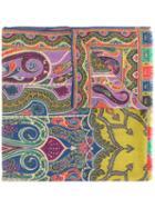 Etro - Printed Scarf - Women - Silk/wool - One Size, Silk/wool