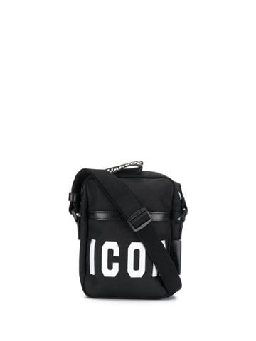 Dsquared2 'icon' Messenger Bag - Black