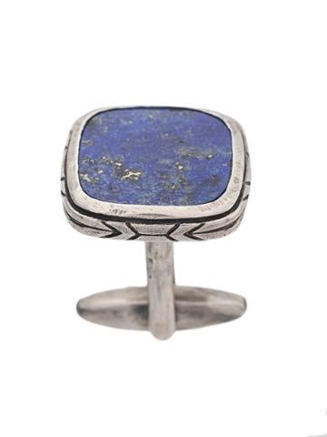 John Varvatos Square Pendant Cufflinks - Blue