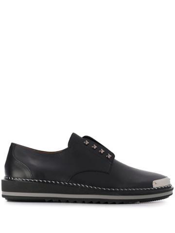 Giuseppe Zanotti Cross Loafers - Black