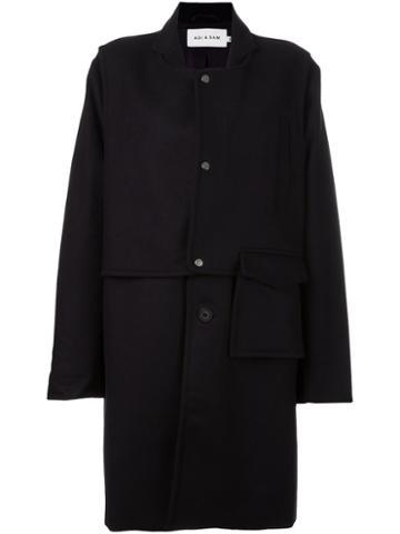 Agi & Sam Oversized Mid Coat
