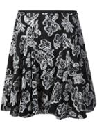 Maiyet Full Skirt, Women's, Size: 6, Black, Silk/polyester/viscose